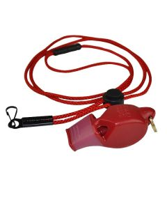 Fox 40 Eclipse Whistle Plus Lanyard-Red