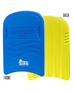 RISE Practice Kickboard-Blue/Yellow
