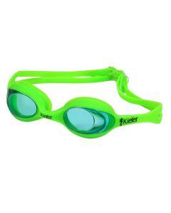 Kiefer Raptor Junior Swim Goggles-Neon Green