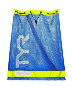 TYR Mesh Equipment Bag-Royal/Yellow