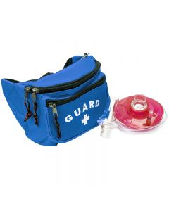 Seal Rite Mask with Guard Hip Pack Kit-Royal