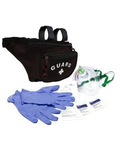 Waterpark Guard Hip Pack Kit - Color - Black