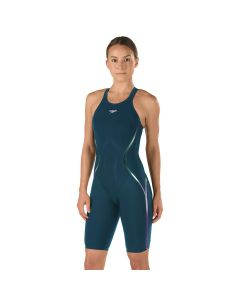 Speedo LZR Racer X Open Back Kneeskin -Dark Teal-20