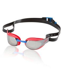 Speedo Fastskin3 Elite Mirrored Goggle-Lava Red