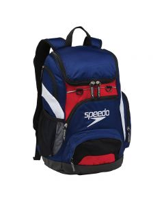 Speedo Large 35L Teamster Backpack-Navy/Red/White-Yes