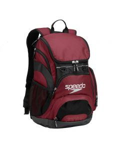 Speedo Large 35L Teamster Backpack-Burgundy-Yes