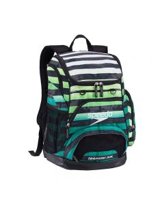 Speedo Large 35L Teamster Backpack-Paradise Stripe-Yes