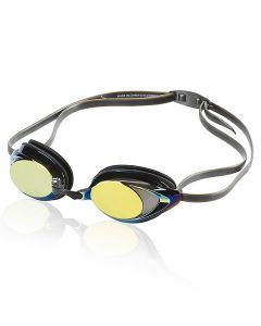 Speedo Vanquisher 2.0 Mirrored Goggle - Color - Deep Gold