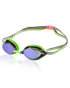 Speedo Vanquisher 2.0 Mirrored Goggle - Color - Key Lime