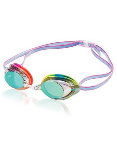 Speedo Vanquisher 2.0 Mirrored Goggle - Color - Rainbow Brights