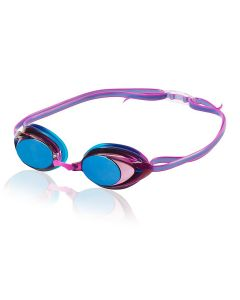 Speedo Women's Vanquisher 2.0 Mirrored Goggle - Color - Purple Dream