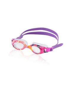 Speedo Hydrospex Jr. Print Goggles - Color - Pink
