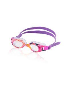 Speedo Hydrospex Jr. Print Goggles - Color - Pink
