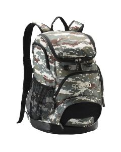 Printed Teamster Backpack (35L) -Camo/Brown/Beige-No