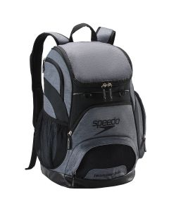 Printed Teamster Backpack (35L) -Heather Grey/Black-No