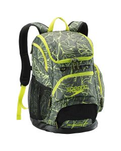 Printed Teamster Backpack (35L) -Palm-Yes - (add $8.00)