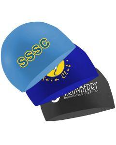 Misprinted Silicone Swim Caps