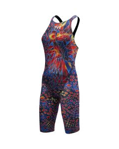 TYR Women's Venom Closed Back Tech Suit Swimsuit-Black Multi-20