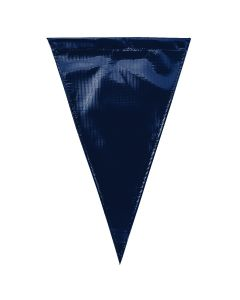 Solid Vinyl Flags - Color - Navy Blue