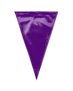 Solid Vinyl Flags - Color - Purple