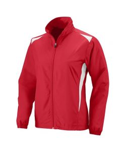 Women's Premier Jacket-Red/White-XSmall