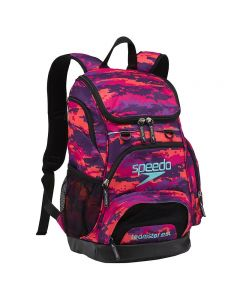 Speedo Medium 25L Teamster Backpack-Digi Camo Purple-Yes