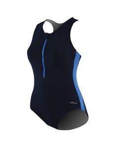 Dolfin Aquashape Zip-Front Racer Back