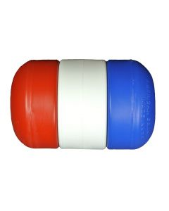 "3"" x 5"" Rope Float 1/2"" Diameter-Red/White/Blue"