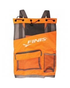 FINIS Ultra Mesh Backpack-Neon Orange/Black