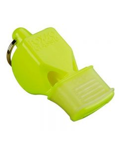 Fox 40 Cushioned Mouth Grip Whistles - Color - Neon Yellow