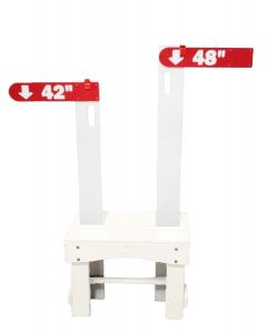 Height Sticks Base-White