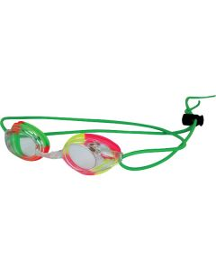 Kiefer Vivid Bungee Swim Goggle-Clear/Green