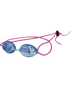 Kiefer Vivid Bungee Swim Goggle-Rainbow/Magenta