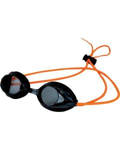Kiefer Vivid Bungee Swim Goggle-Smoke/Orange