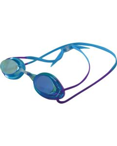 Kiefer Junior Elite Mirrored Performance Swim Goggles-Blue/Purple