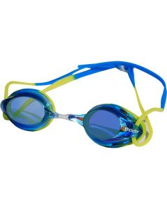 Kiefer Junior Elite Mirrored Performance Swim Goggles-Blue/Yellow