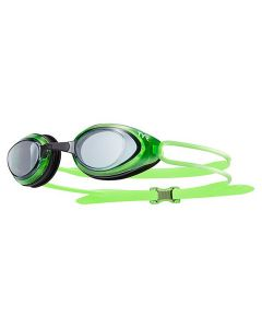 TYR Black Hawk Racing Goggles Color: Smoke/Fl. Green/Black (085)