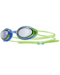 TYR Blackhawk Racing JuniorGoggles-Smoke/Green/Black