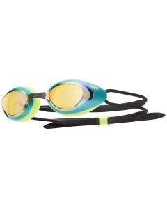 Blackhawk Racing Mirrored Goggles - Color - Green/Gold