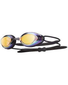 Blackhawk Racing Mirrored Goggles - Color - Rainbow/Gold