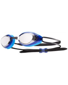 Blackhawk Racing Mirrored Goggles - Color - Silver/Blue
