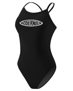 RISE Instructor Poly H-Back - Color - Black,Size - 26