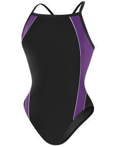 RISE Solid H-Back Poly Splice-Black/Purple-22