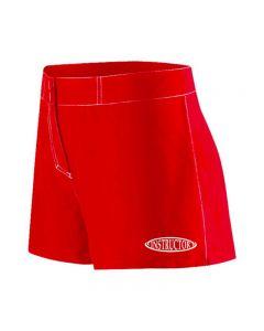 RISE Instructor Female Flex Short-Red-XSmall