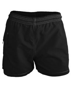 RISE Solid Female Flex Waterpark Board Short-Black-XSmall