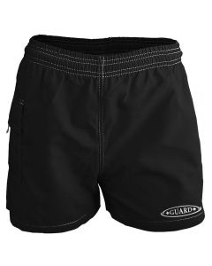 RISE Guard Female Flex Waterpark Board Short-Black-XSmall