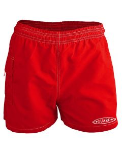 RISE Guard Female Flex Waterpark Board Short-Red-XSmall