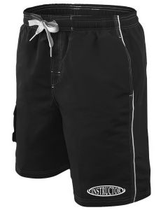 RISE Instructor Boardshort - Color - Black,Size - Small