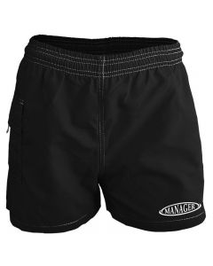 RISE Manager Female Flex Board Short-Black-XSmall