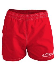 RISE Supervisor Female Flex Board Short-Red-XSmall